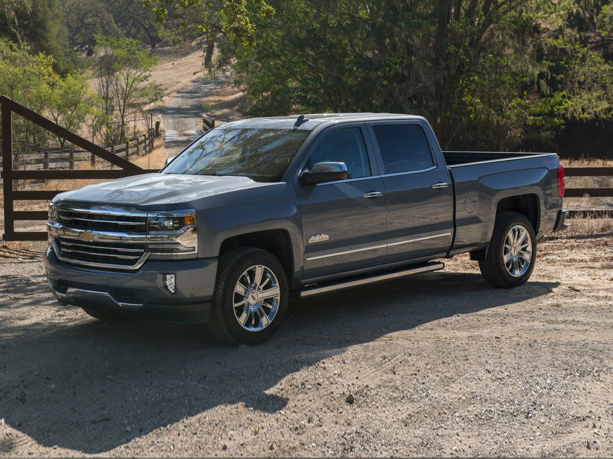 Certified Pre Owned 2016 Chevrolet Silverado 1500 High Country